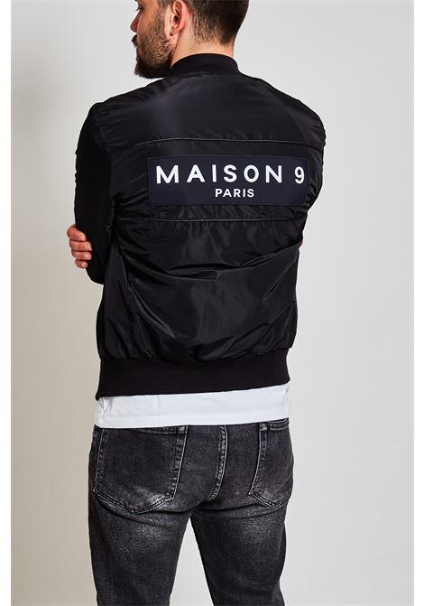 Giubbotto Bomber Maison 9 Paris MAISON 9 PARIS | Giubbotto | G829NERO/BIANCO