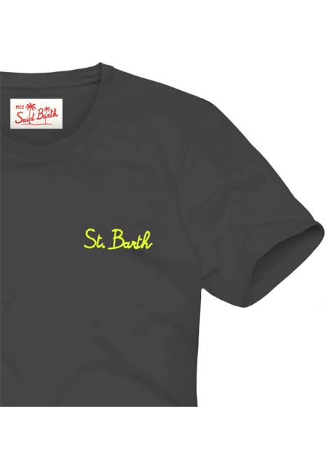 T-shirt MC2 Saint Barth con scritta ricamata MC2 SAINT BARTH | T-shirt | DOVERSB0001