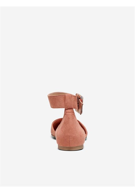 ONLANAS-6 LIFE  BUCKLE HEEL BALLERINA ONLY SHOES | Scarpe | 15226566ROSE PINK