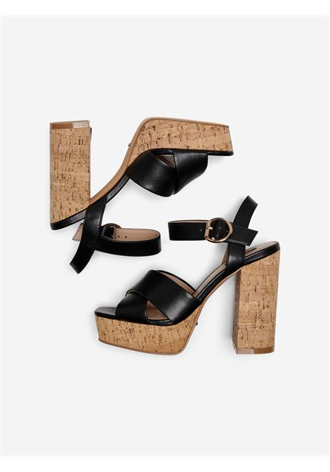 ONLATUMN-2 PU CORK HEELED SANDAL ONLY SHOES | Scarpe | 15226806BLACK