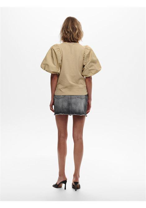 Vera life Wove Puff T-shirt ONLY | T-shirt | 15223900SESAME