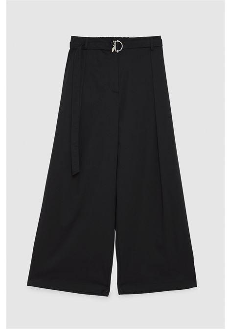 Pantalone palazzo con cintura Patrizia Pepe PATRIZIA PEPE | Pantalone | 2P1314-A23K103