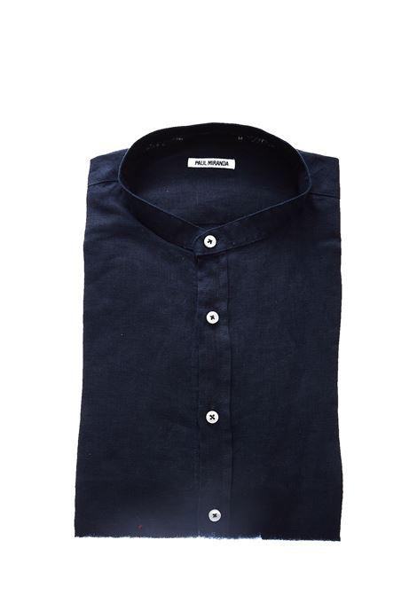 Camicia in lino Paul Miranda PAUL MIRANDA | Camicia | CA801BLU