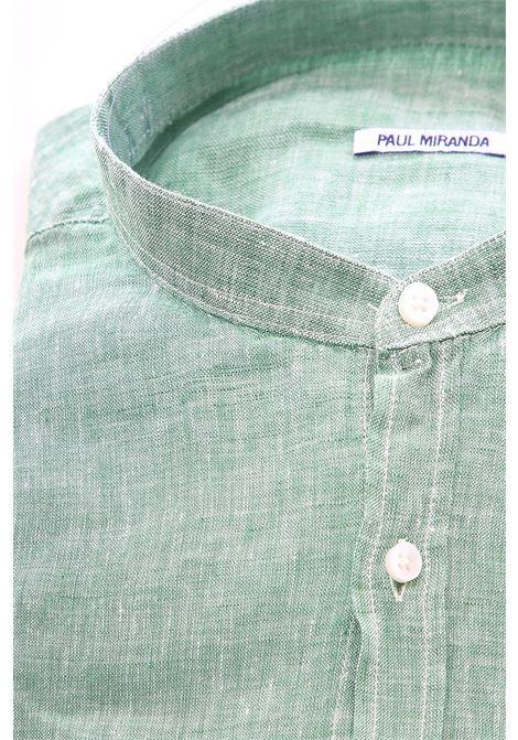 Camicia Paul Miranda PAUL MIRANDA | Camicia | CA801VERDE