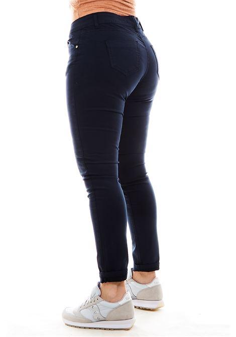 Pantaloni SETTE/MEZZO | Pantalone | E31-5TASCHEBLU297