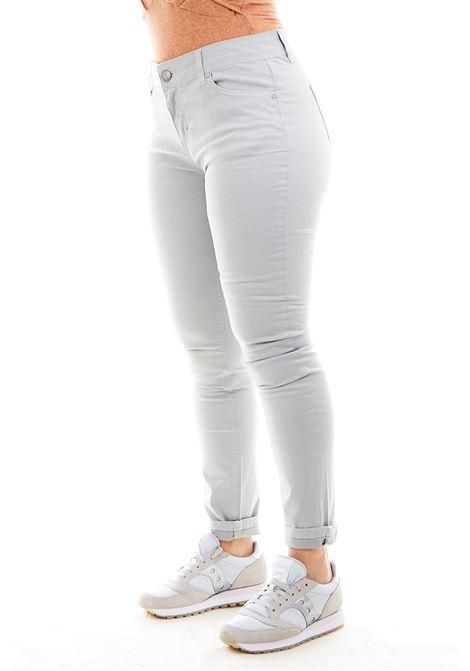 Pantaloni SETTE/MEZZO | Pantalone | E31-5TASCHEGRIGIO CHIARO