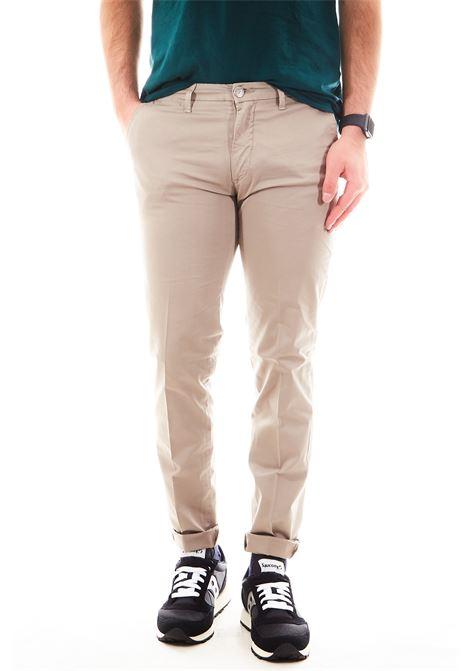 Pantaloni SETTE/MEZZO | Pantalone | E98/8136FANGO