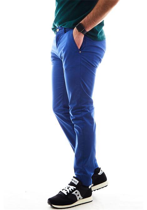 Pantaloni SETTE/MEZZO | Pantalone | E98/8136ROYAL