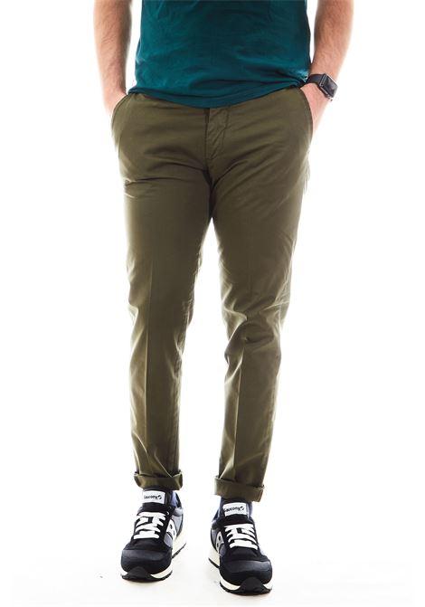 Pantaloni SETTE/MEZZO | Pantalone | E98/8136VERDE MILITARE