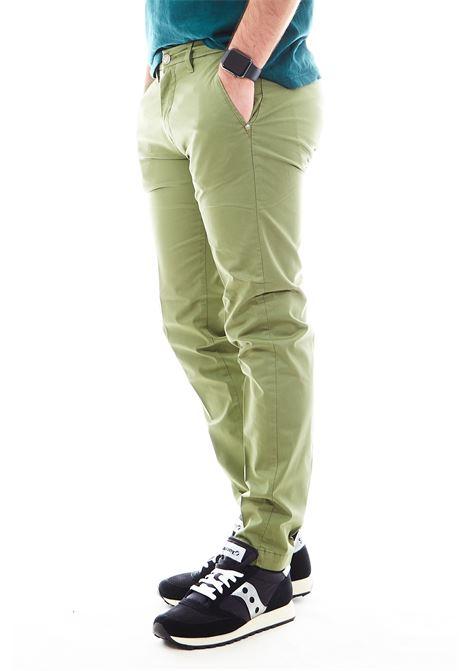 Pantaloni SETTE/MEZZO | Pantalone | E98/8136VERDE