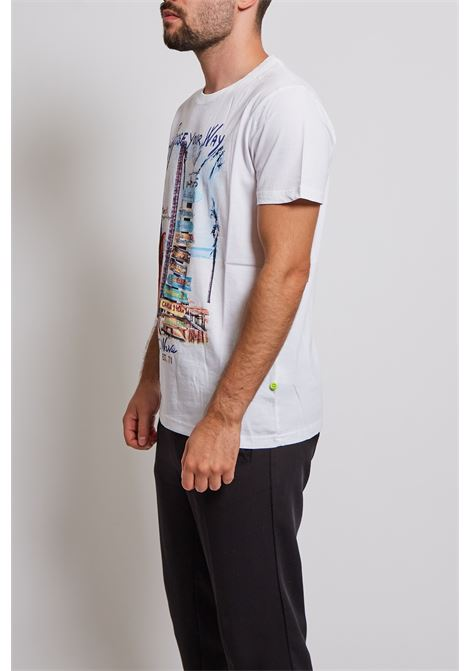 T-shirt Shockly SHOCKLY   T-shirt   213T220WHITE