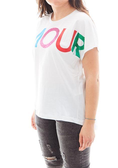 T-shirt Shop Art SHOP ART | T-shirt | SH60851BIANCO