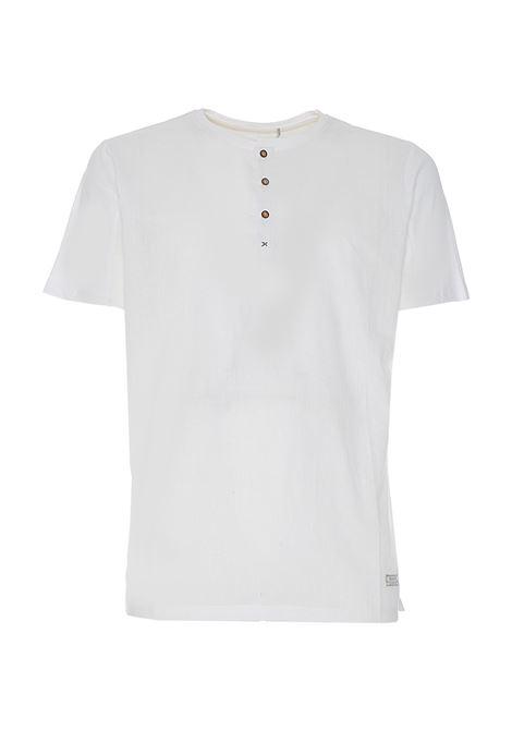 T-shirt in lino SSeinse SSEINSE | Maglia | TE1891SSBIANCO