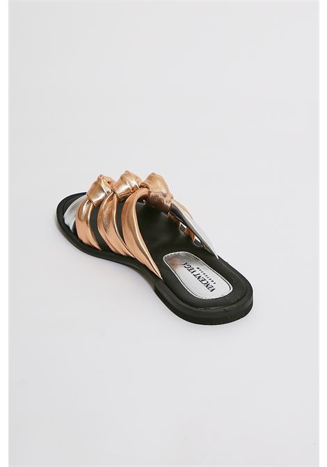 Sandali in vera pelle Vincent Vega VINCENT VEGA | Scarpe | AG05RAME