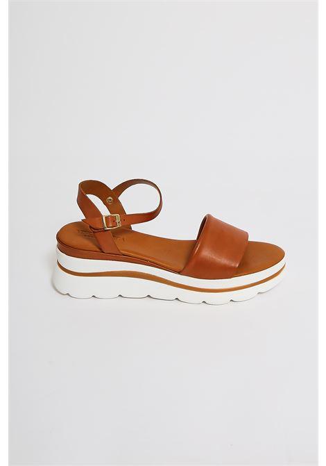 Sandali in vera pelle Vincent Vega VINCENT VEGA | Scarpe | FZ802XLCUOIO