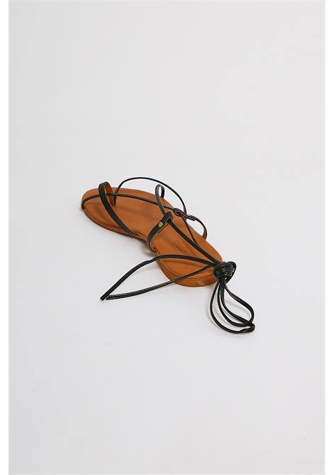 Sandali in vera pelle Vincent Vega VINCENT VEGA | Scarpe | P120SKNERO