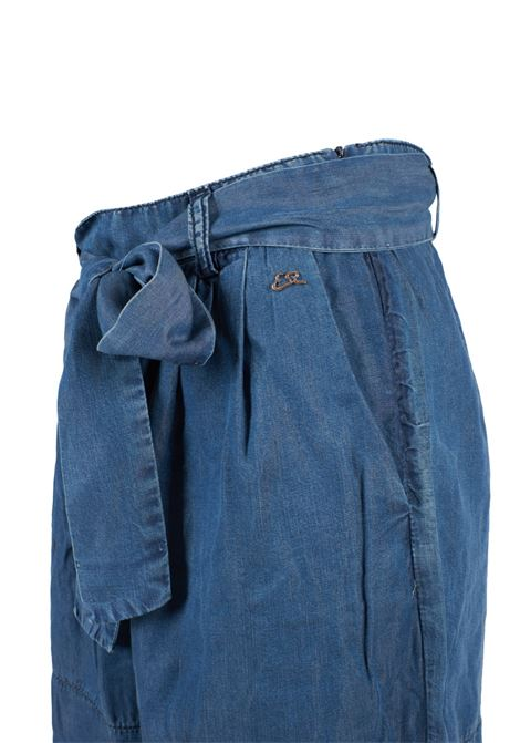 Shorts a caramella in jeans YES-ZEE | Shorts | P279-X805J711