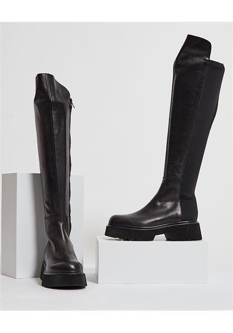 Stivali alti con suola in gomma ALBANO | Scarpe | 2021NERO