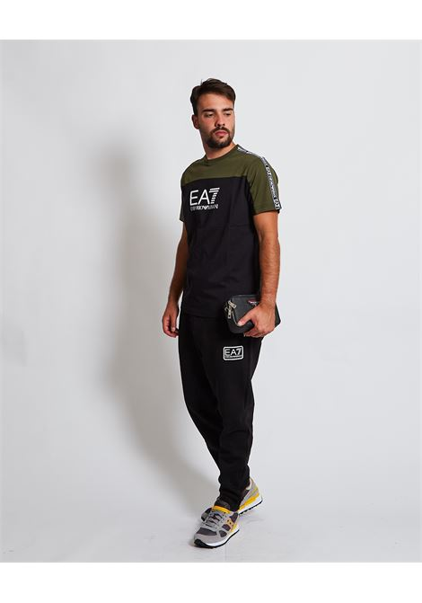 T-shirt con logo sul petto EA7 EA7 | T-shirt | 6KPT10-PJ7CZ0200