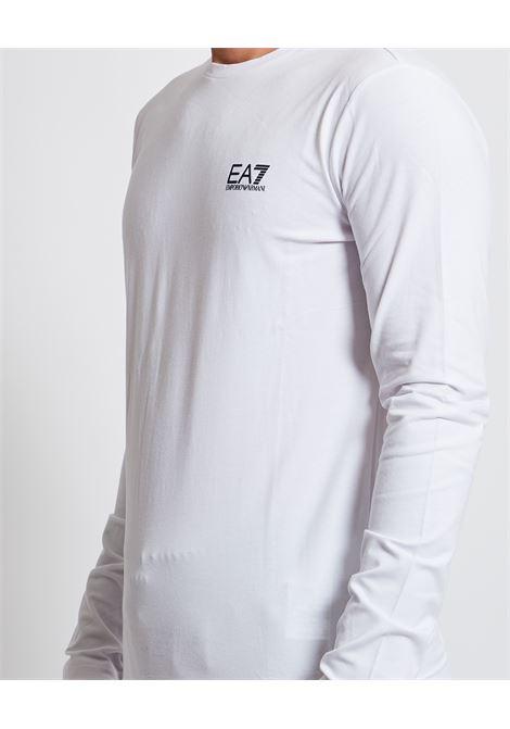 Maglia a manica lunga con logo EA7 | Maglia | 8NPT55-PJM5Z1100
