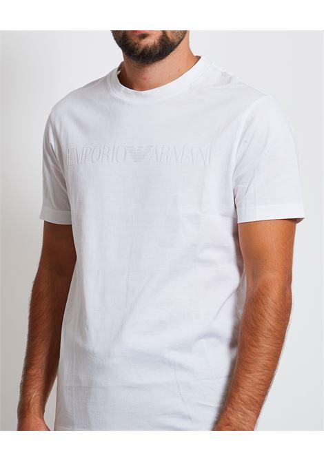 T-shirt con logo sul petto Emporio Armani EMPORIO ARMANI | T-shirt | 8N1TD2-1JGYZ0146