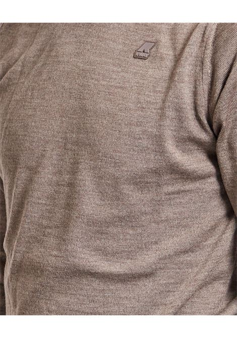 Pullover con logo K-way K-WAY | Maglia | K6113BW-SEBASTIEN UWG9
