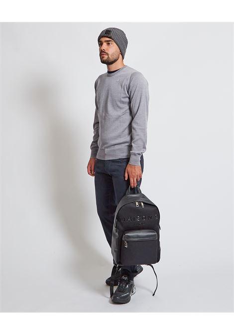 Pullover con logo K-way K-WAY | Maglia | K6113BW-SEBASTIEN UXBD