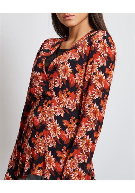 Camicia a fiori PATRIZIA PEPE | Camicia | 2C1280-A9O5XU93