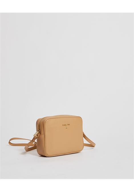 Mini bag in pelle Patrizia pepe a tracolla apertura con cerniera e logo sul fronte PATRIZIA PEPE | Borsa | 2V8985-A4U8NB685