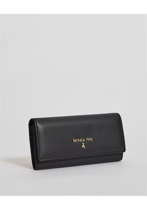 Portafoglio con logo PATRIZIA PEPE | Portafoglio | 2VA215-A4U8NK103