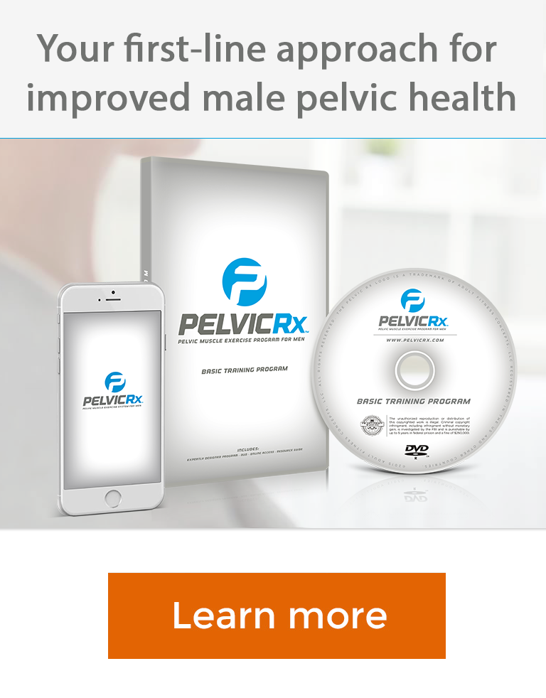 Pelvicrx Exercise Program For Male Prostate And Urinary Health