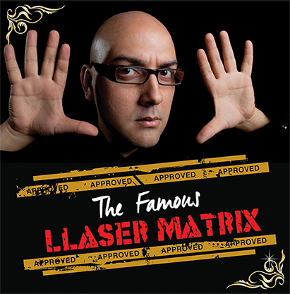 Gimmick and Online Instructions ... The Famous Llaser Matrix by Manuel Llaser