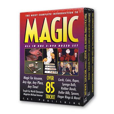 Magic of Michael Ammar #3 by Michael Ammar Coin Magic DVD