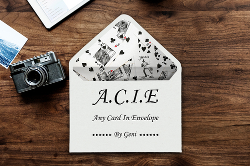 ACIE by Geni Instant Download