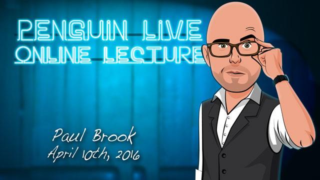 Image result for Paul Brook - Penguin Live