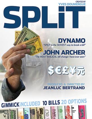 Split magic trick