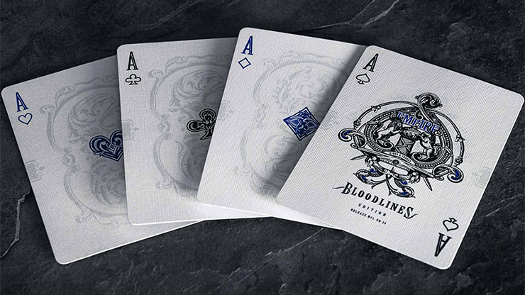 Empire Bloodlines Blue Deck Playing Cards Kings And Crooks Rare New Sealed