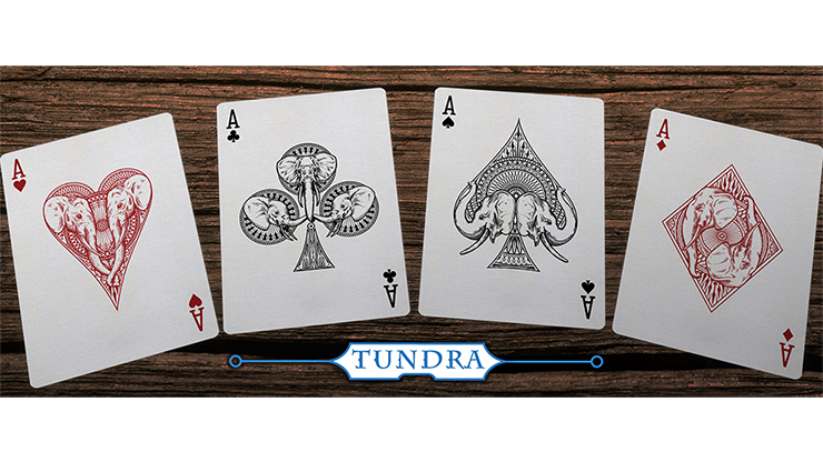 Elephant Playing Cards Tundra