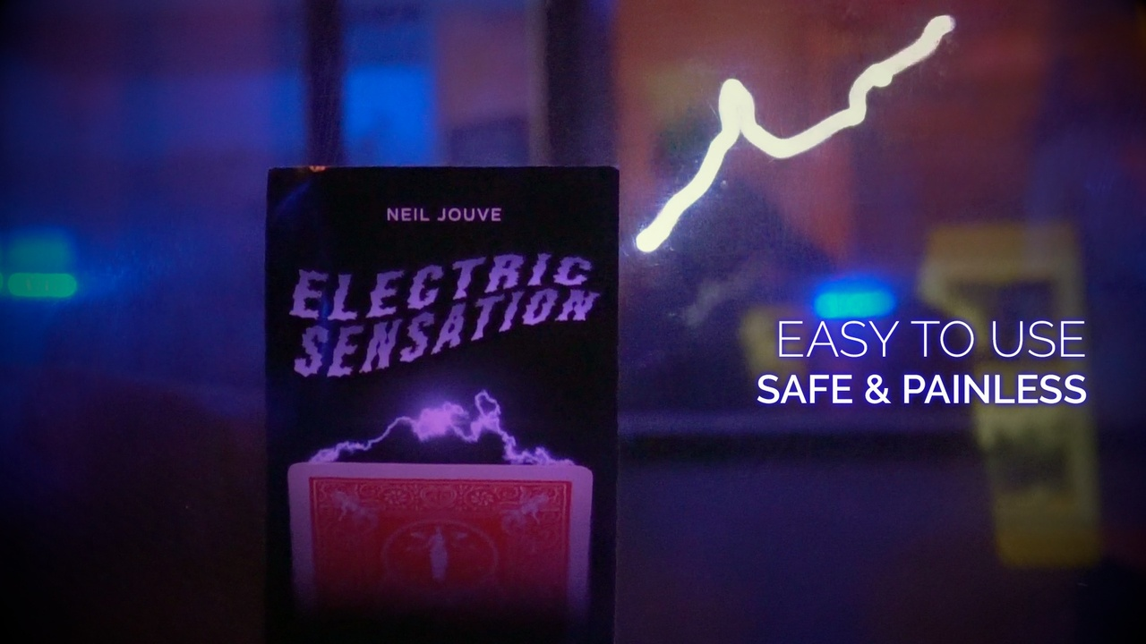 Electric Sensation by Neil Jouve Red Bicycle Back
