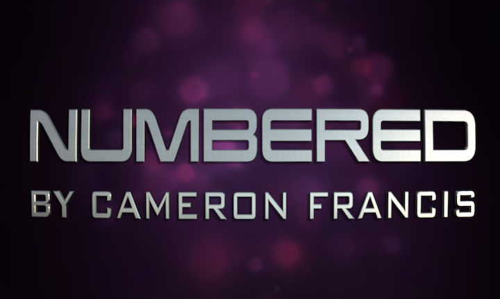 NUMBERED by Cameron Francis Instant Download