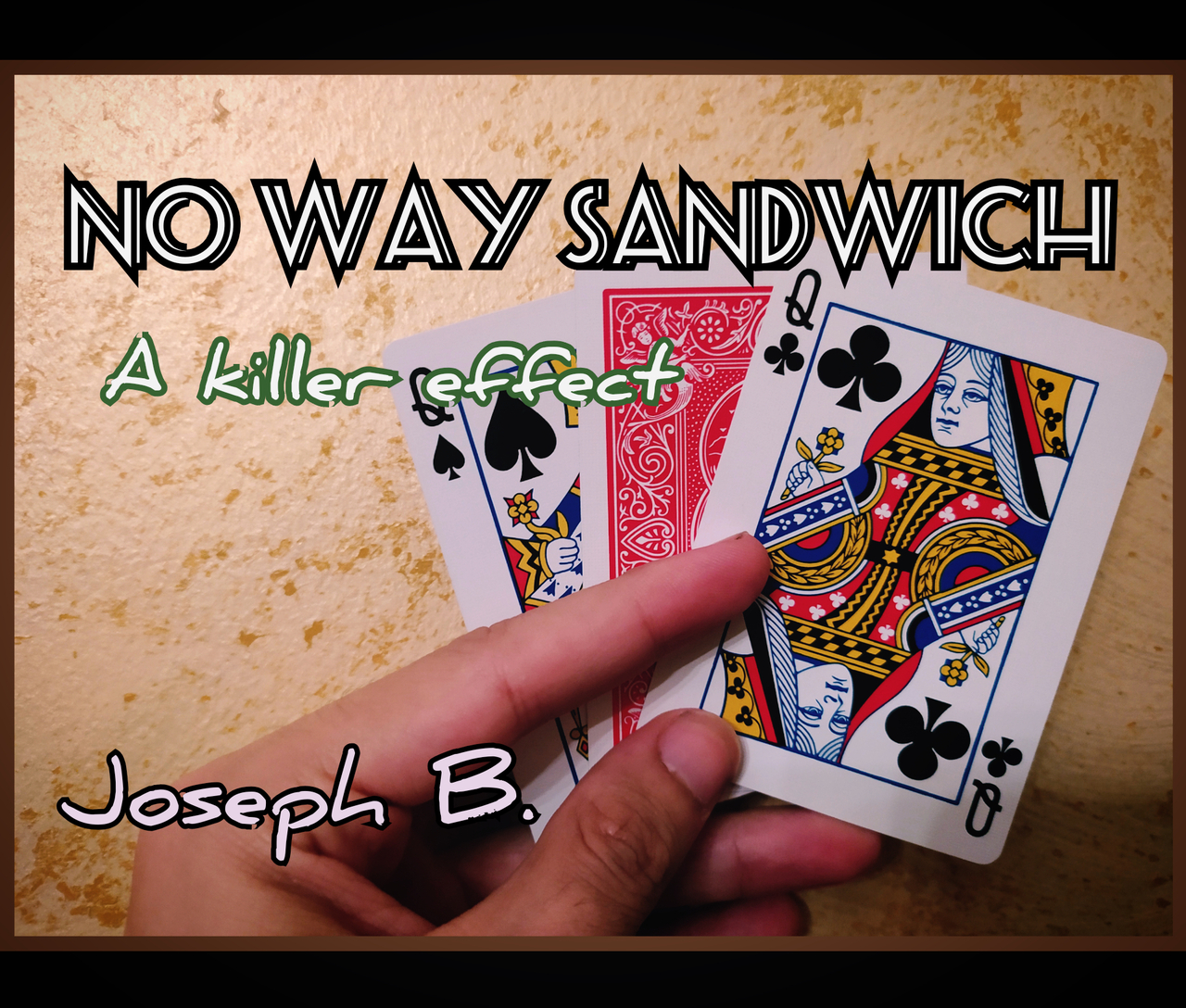 NO WAY SANDWICH By Joseph B. Instant Download