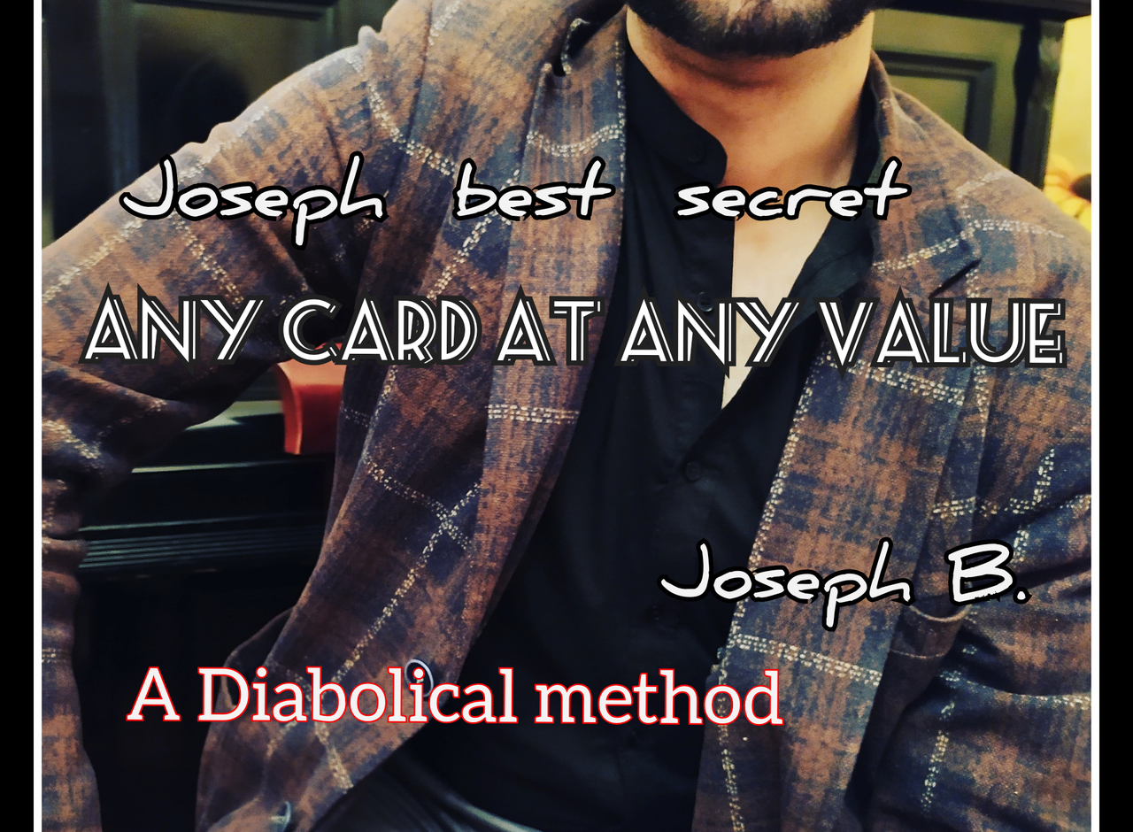 ANY CARD AT ANY VALUE By Joseph B. Instant Download