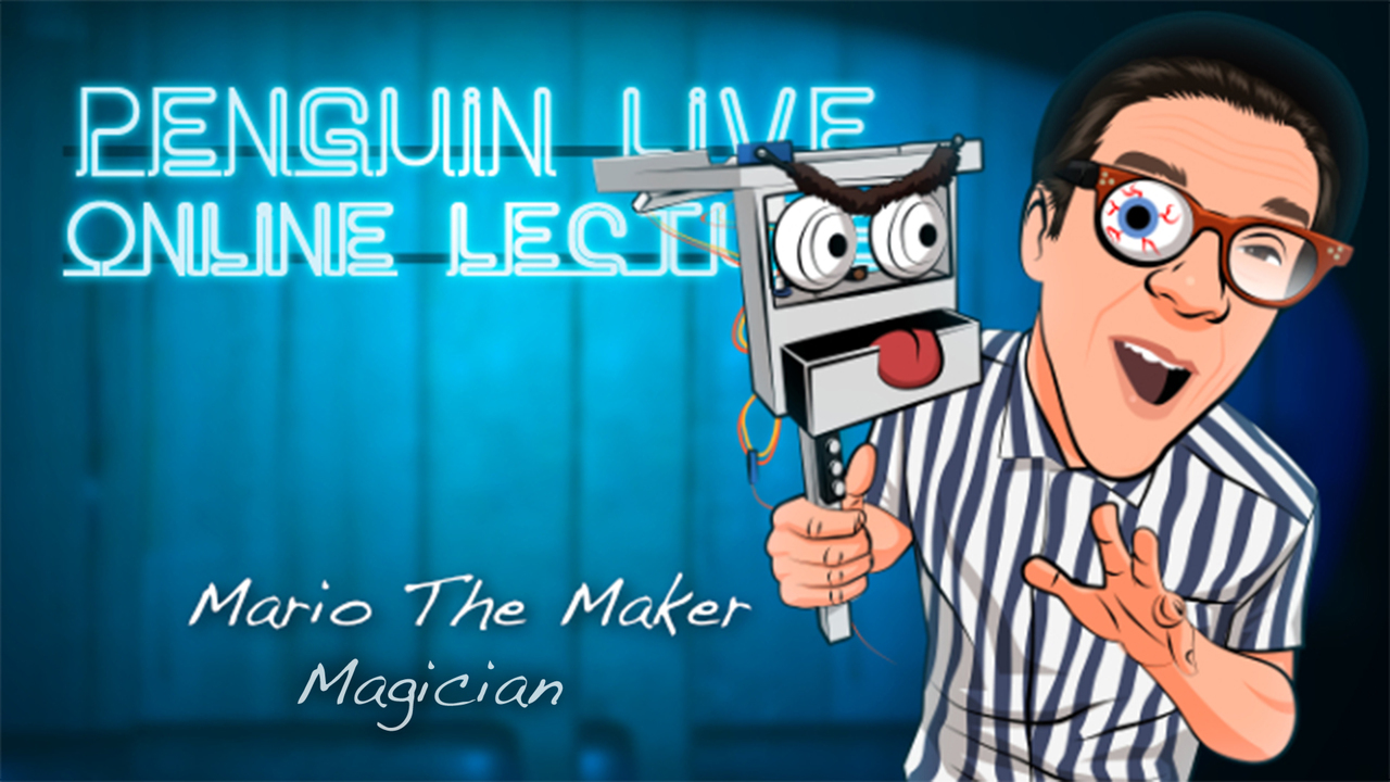 Mario the Maker Magician LIVE Instant Download