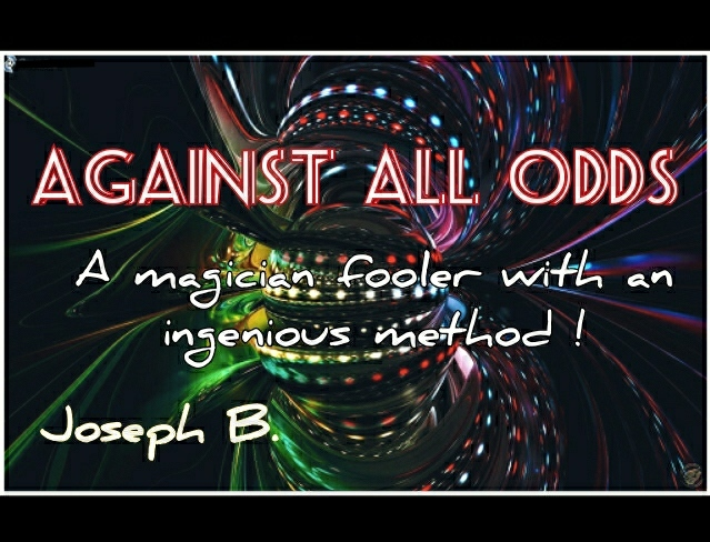 AGAINST ALL ODDS by Joseph B. Instant Download