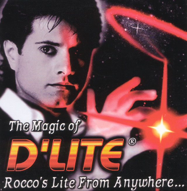 D/'Lite Red Ultra Bright by Rocco Brand New Magic Trick Single