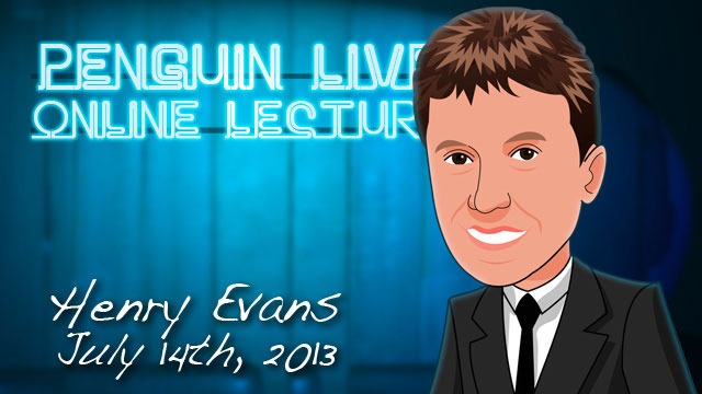 Image result for Henry Evans - Penguin Magic LIVE Lecture