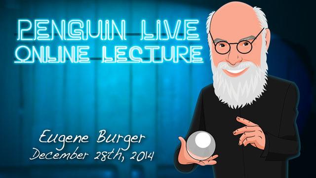 Eugene Burger LIVE Instant Download