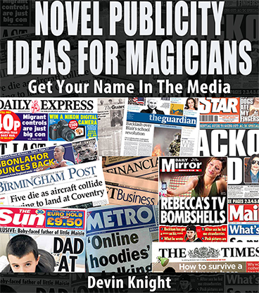 Novel Publicity For Magicians by Devin Knight DRM Protected ...