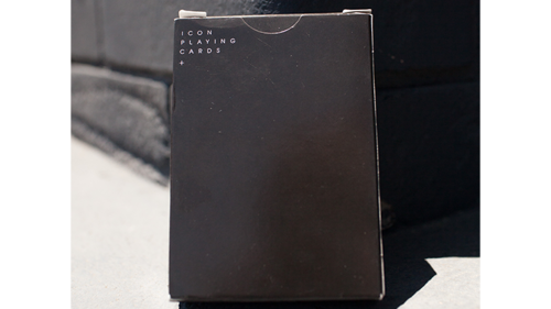 ICON BLK Playing Cards by Pure Imagination Project