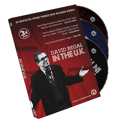 David Regal In The Uk 3 Dvd Set By David Regal Dvd